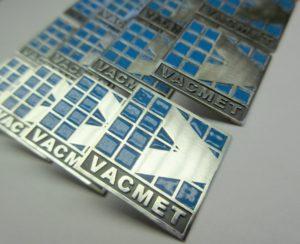 Pins voor Vacmet met emaille