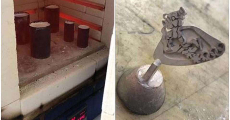 Pin voor Esmee Visser: gieting in zilver