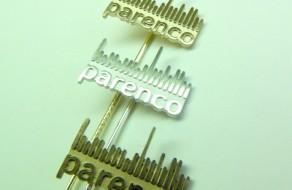 spelden in goud, zilver en brons voor het aantal dienstjaren